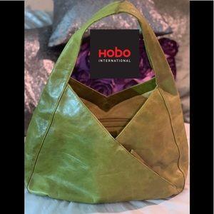 Hobo International green Paulette bag